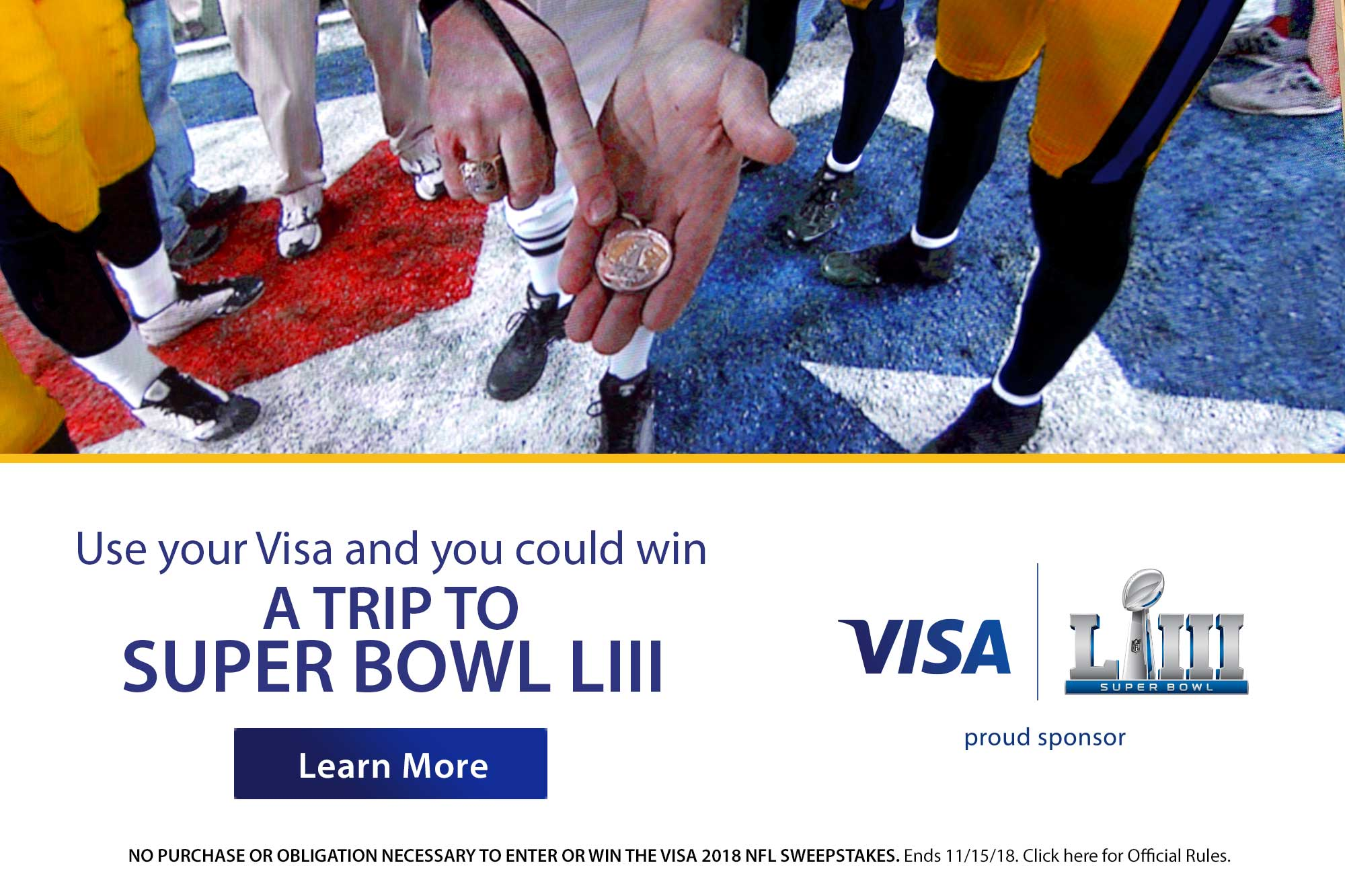 Win a trip to Super Bowl 53
