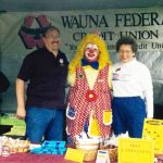 1998 booth with clown1