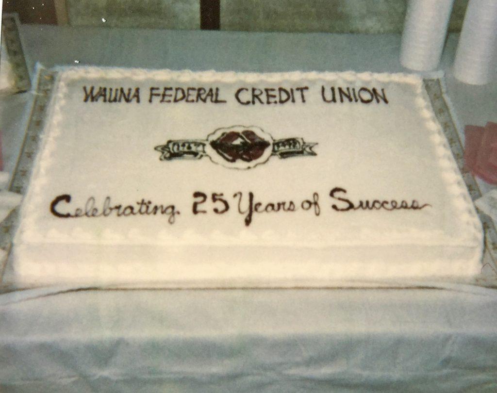 25 year cake
