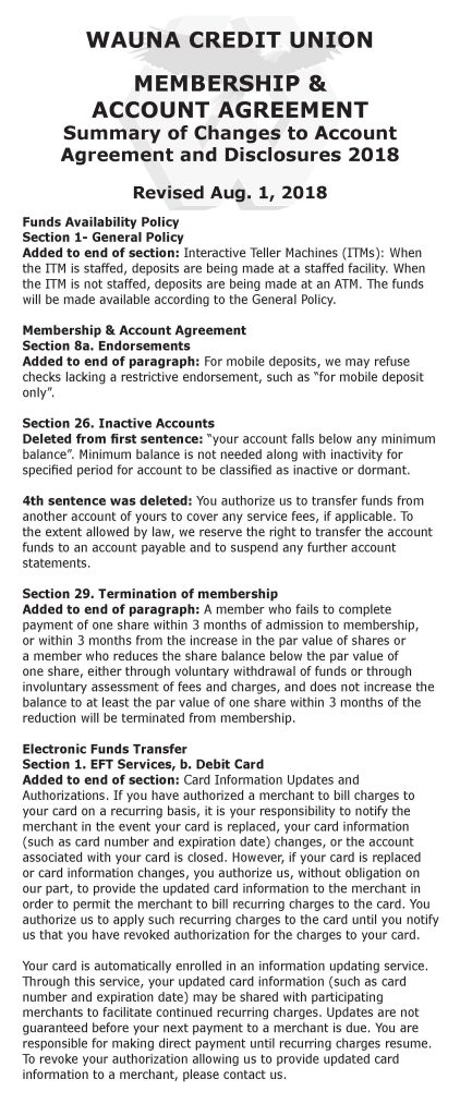 Fee Schedule Page 2