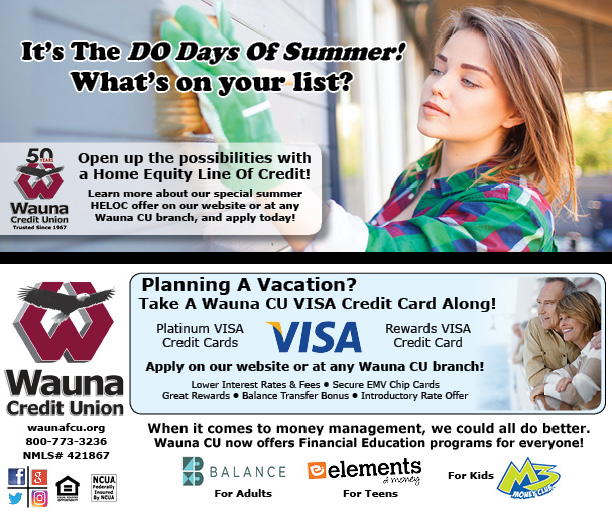 Wauna Credit Union June Statement Insert