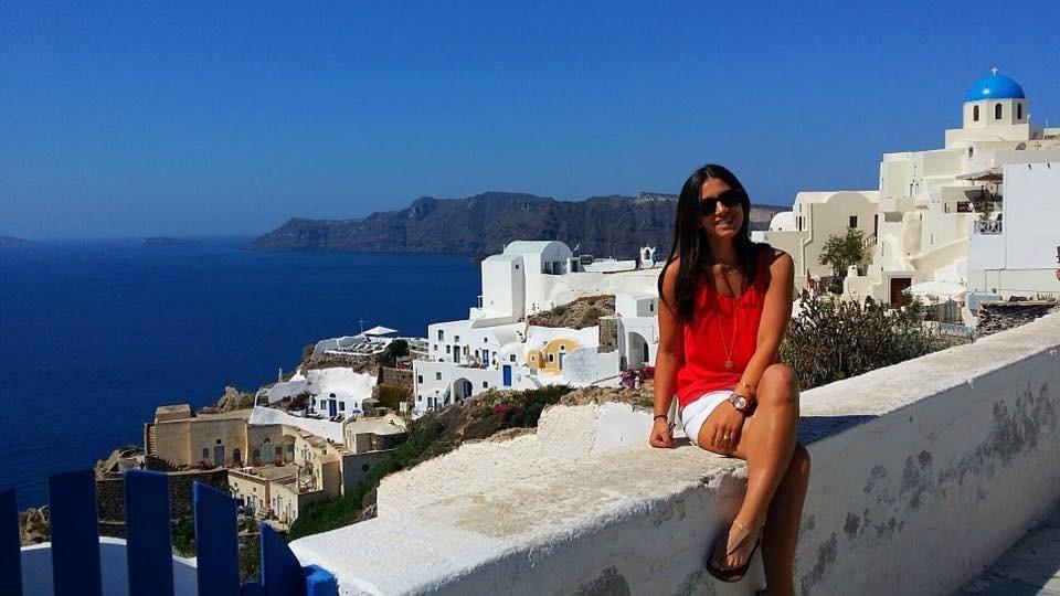 Kailynn in Greece