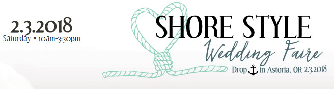 ShoreStyle Wedding Faire February 3 10 am to 3:30 pm