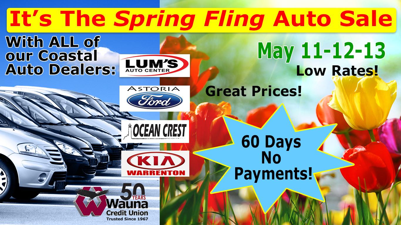 Spring Fling ad