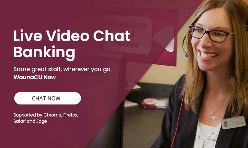 Wauna CU Now video chat link